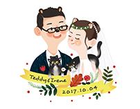 wedding illustrations 2