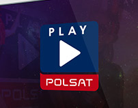 Polsat Play | Logo design