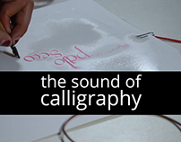 The sound of calligraphy
