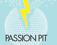 Passion Pit poster design