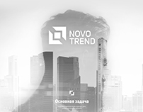 "Stock trading company corporate website ""Novotrend"" Кор"