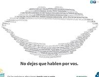 """2011 – """"No dejes que hablen por vos"""""""