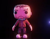 Cyberpunk 2077 Pop Funko redesign