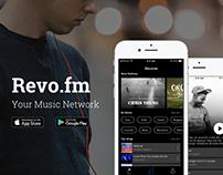 Revo app design