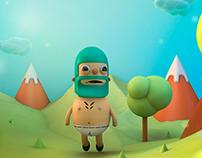 Jacinto en el bosque