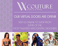 VX Couture Website & Marketing Pack