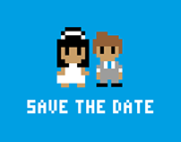 Save The Date (8-Bit Style)