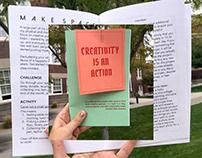 Creativity Is An Action Zine