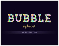 Bubble Alphabet 4K (After Effects Project)