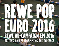 REWE Euro 2016 | Display Typeface for campaign