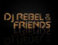 DJ Rebel & Friends 3d Cover Artwork