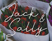 Jack And Sally - Signature Font