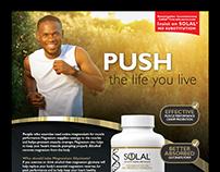 SOLAL Print adverts