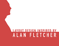Layout Design inspired by Alan Fletcher