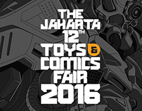 The Jakarta 12th Toys and Comics Fair 2016