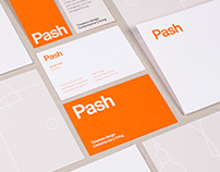 Pash Living Identity, Website and Print Materials