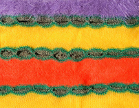 Single Bed Knitting Samples