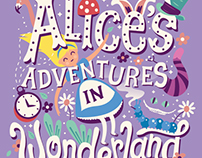 Alice's Adventures in Wonderland - Book Cover