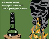 Blayze & Saddles Ruin Christmas