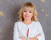 Responsive landing page for leading Juliya Akkyratova