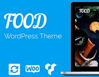 Food WordPress Theme - Banner