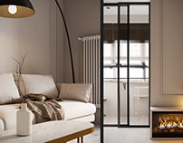 """Apartment in Moscow ZHK """"Zilart"""""""
