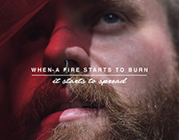When a Fire Starts to Burn