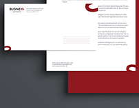 Business Supporter Brand identity