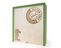 Stoli Gluten Free Vodka Press Kit Design