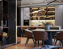 Design and visualization of the apartment