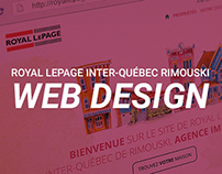 Design Web - Royal Lepage Inter-Québec de Rimouski