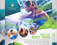 Edit Fitness Flyer / Gym Flyer