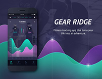 GearRidge Fitness Tracking App