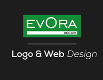 Evora Decor // Logo & Web Design