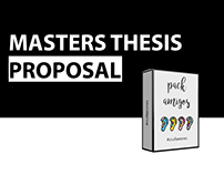 Masters Thesis Proposal