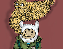 Adventure Times Finn & Jake for DomosGallery