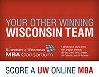 UW MBA Consortium Green Bay Packer Yearbook Ads