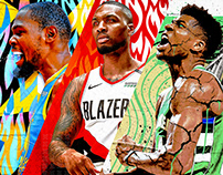 ABSTRACT - NBA ART
