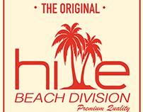 HiVE Beach División Logo