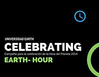 Hora del Planeta.  Universidad EARTH.