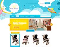 E-commerce - Baby Dreams