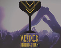 Logo Design - Vesper Music Management