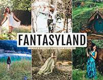 Free Fantasyland Mobile & Desktop Lightroom Presets