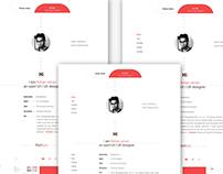 Personal Portfolio UI / UX
