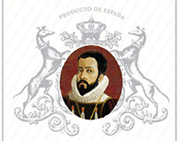 Trademark design of Marques de Valdecanas table wine