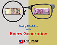 R Kumar - Seeing #EyeToEye with Every Generation