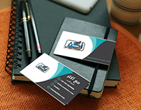 business card + flyer A4+ cover facebook AKTHAR