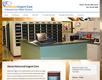 Advanced Urgent Care Website