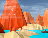 lowpoly environment