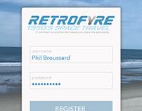 Mobile App Development for Retrofyre Apparel (Sketch)